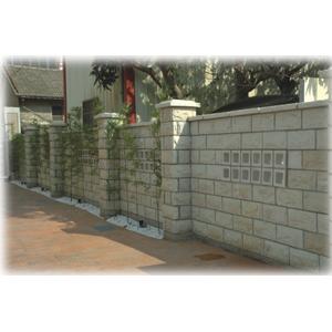 橡石磚圍牆-宜昌工程有限公司