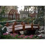 景觀木橋、花架