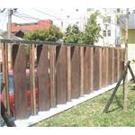 立木紋圍牆板