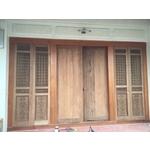 傳統門扇雕刻