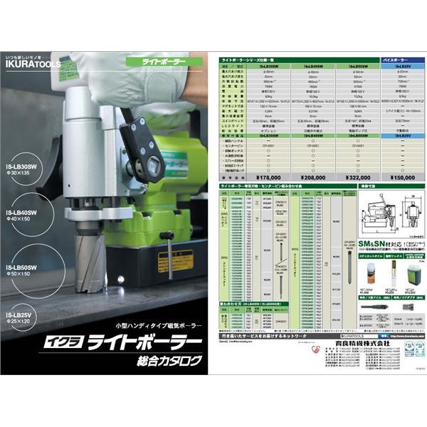 IKURA鑽孔機綜合型錄-銨贊企業有限公司