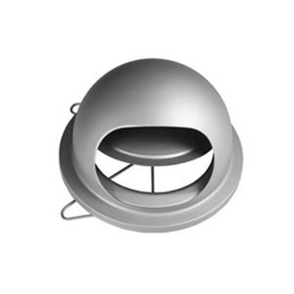 小飛碟UFO(專利不�袗�逆止風門式排煙罩.魚眼罩.通風罩) 排油煙罩、排煙罩、衛浴室內出口罩、外氣口、排氣罩裝置等。-泓富實業有限公司