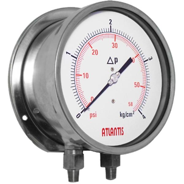 全不鏽鋼波紋管式差壓錶   MDX-昶特有限公司