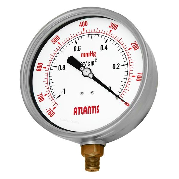 安全型外殼不鏽鋼壓力錶(內卡式)   SF-SC-昶特有限公司