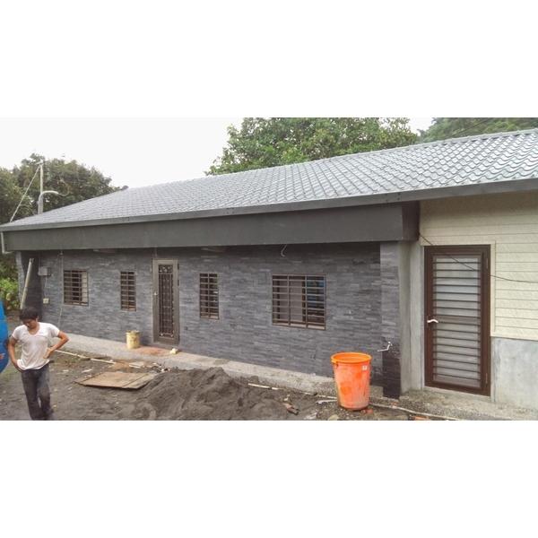 欧式铁皮屋,顶楼铁皮屋加盖,烤漆钢板更换,铁皮屋隔热工程,钢构铁皮屋图片