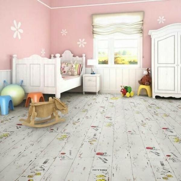 兒童房間木地板