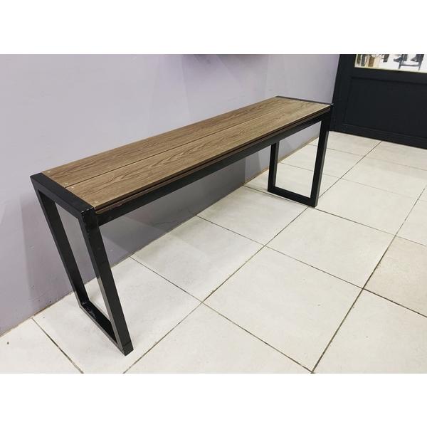 塑木+不鏽鋼訂製椅