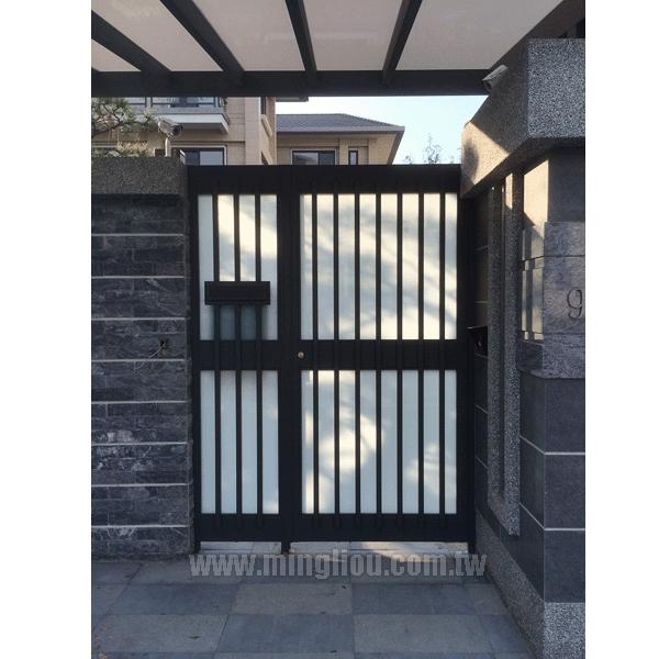 日式造型信箱門
